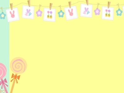 Yellow Cute Background