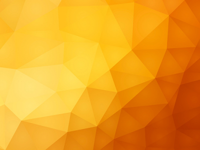 Yellow Geometric Low Poly Background
