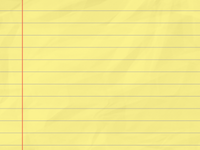 Yellow Lined Paper Background