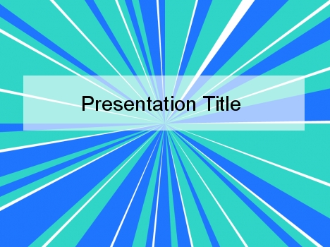 for a group focus presentation Circle Segments PowerPoint Background