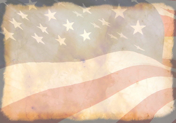 Vintage Patriotic Powerpoint Background Secular Holiday Backgrounds
