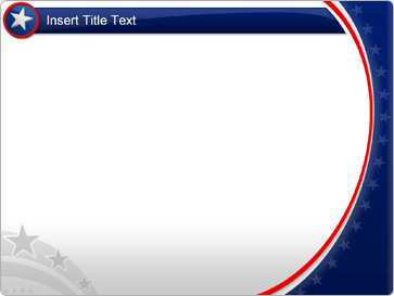 Download American PowerPoint template Patriotic Powerpoint Background