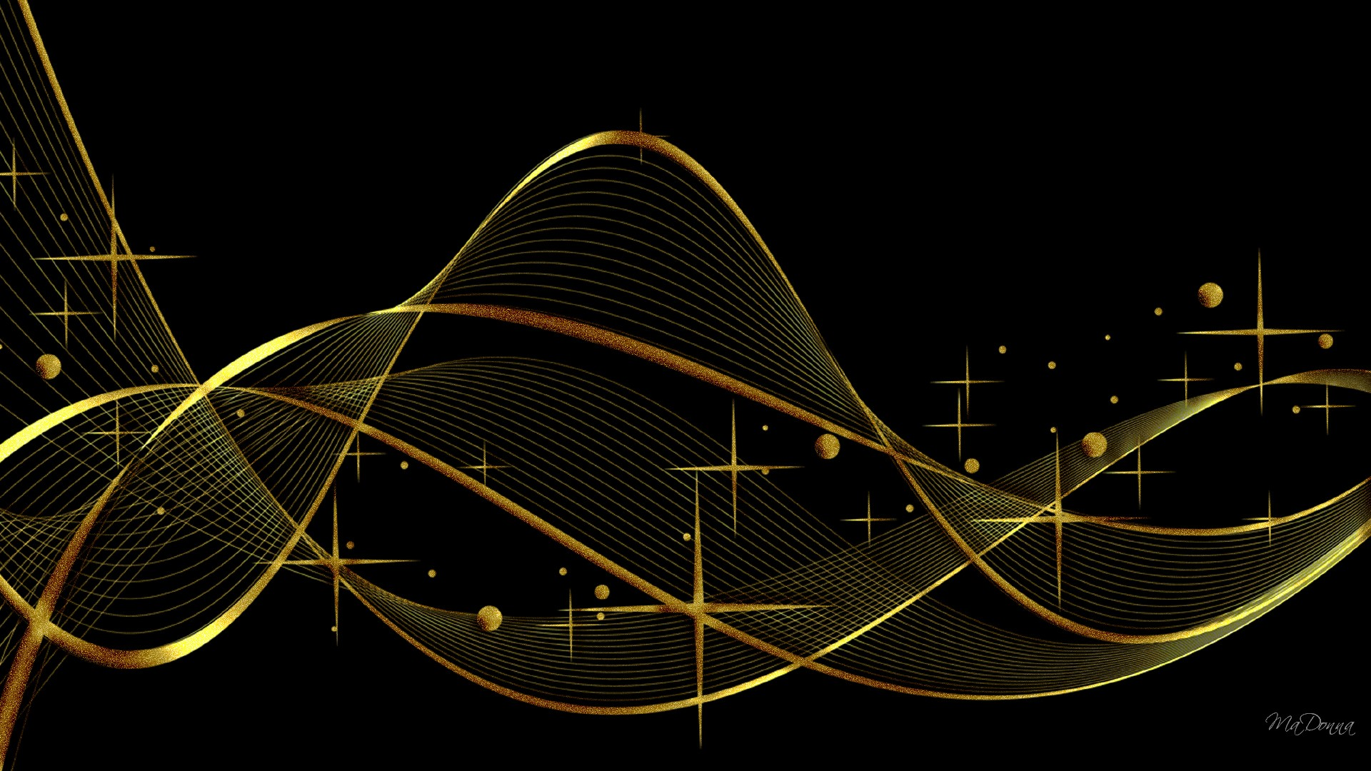 Black And Gold Background - PowerPoint Backgrounds for ...