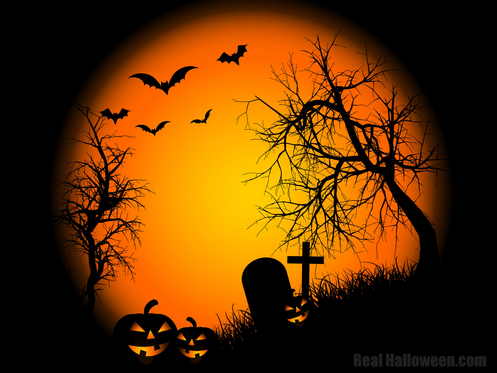 Halloween Themed Stuff 3 – Halloween Wall Papers and Flash Templates