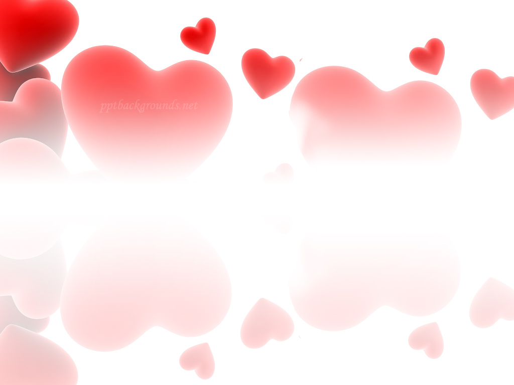 Love Hearts Background Red love hearts