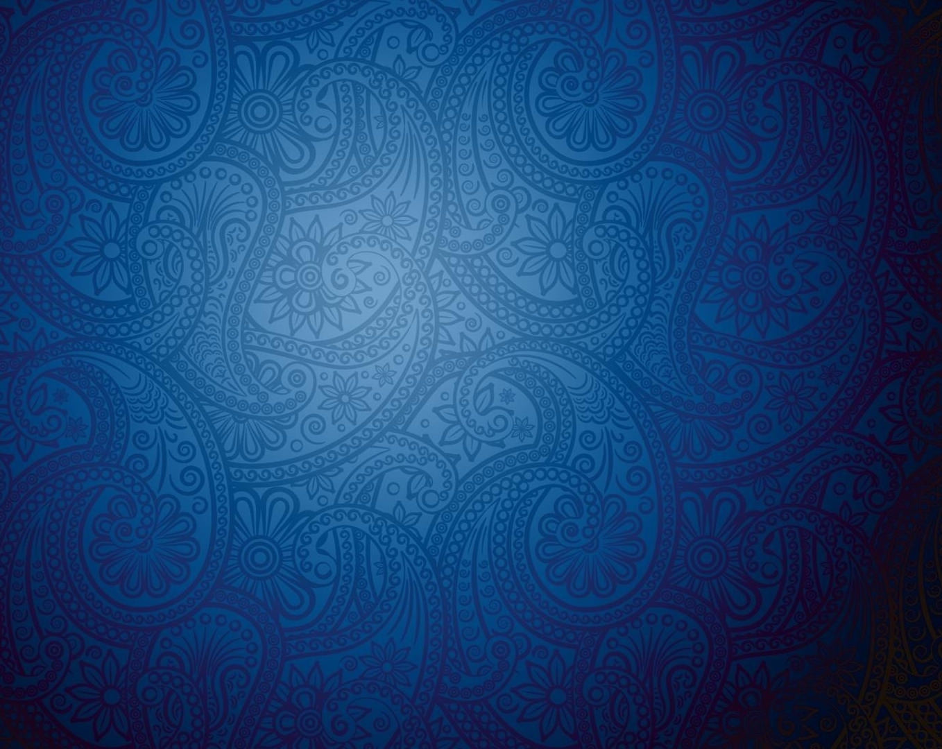 Amazing Blue Pattern Background Free