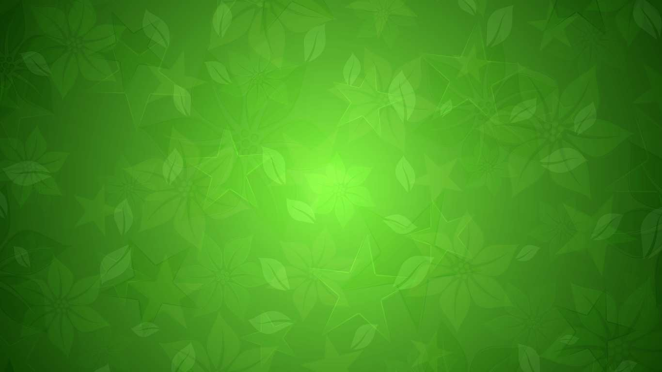 Green floral stars texture Power Point Backgrounds, Green floral