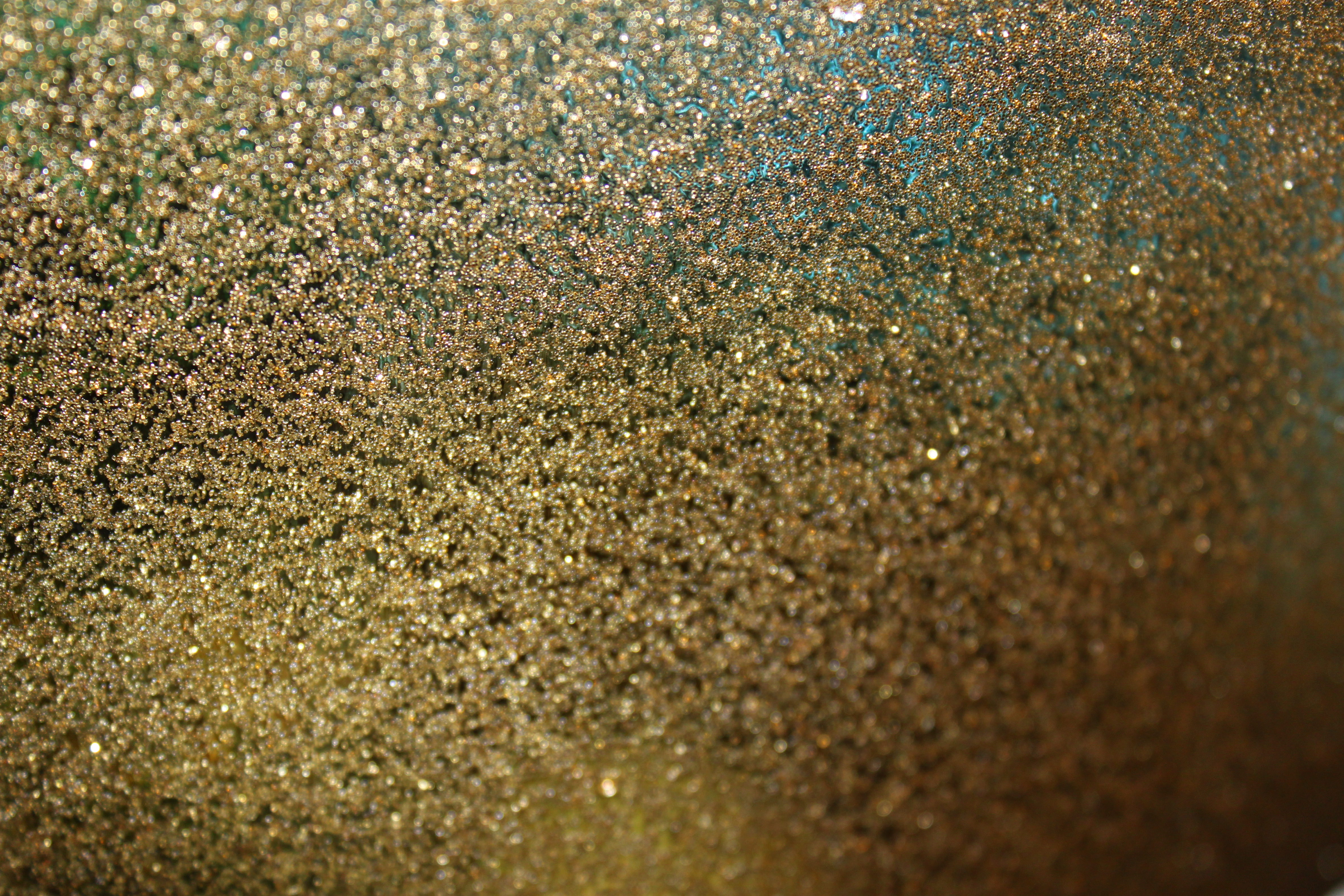 High Res Gold Glitter Background