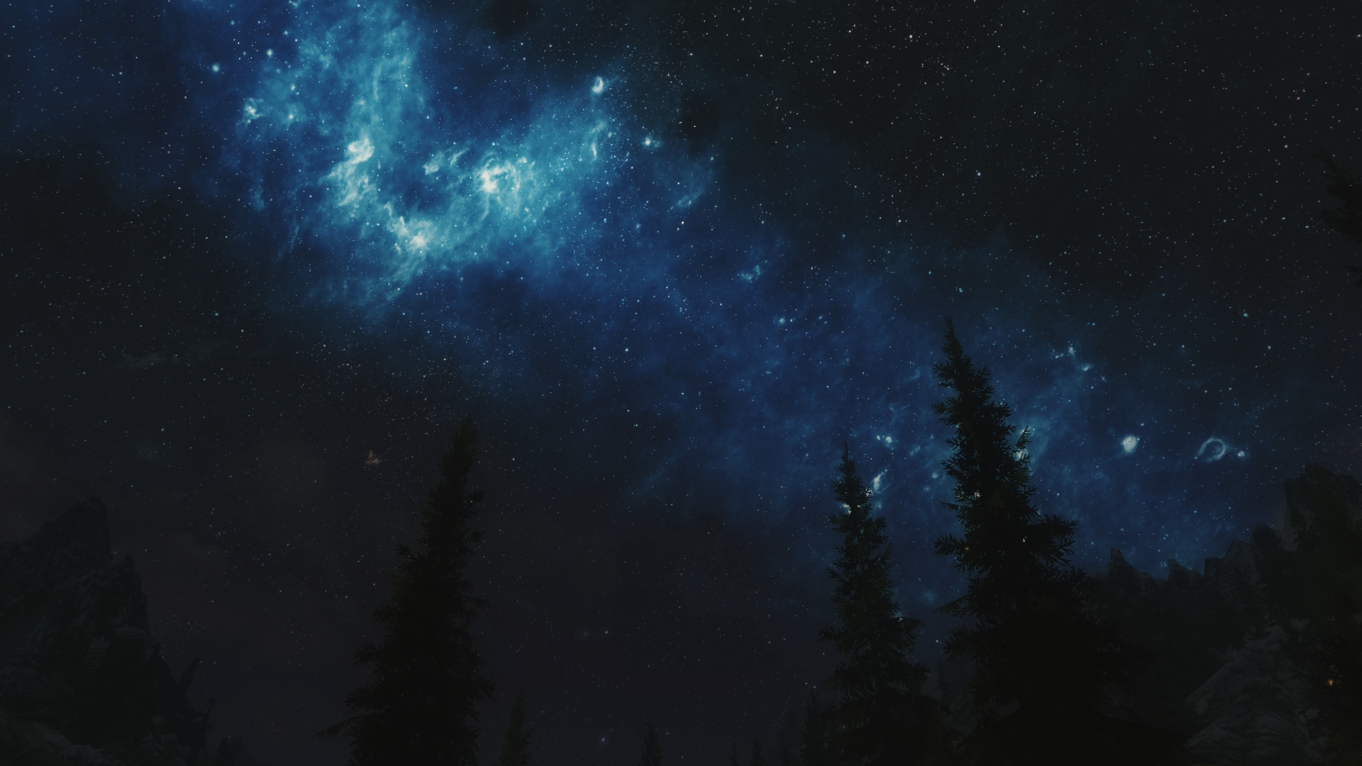 Night Sky Background - PowerPoint Backgrounds for Free