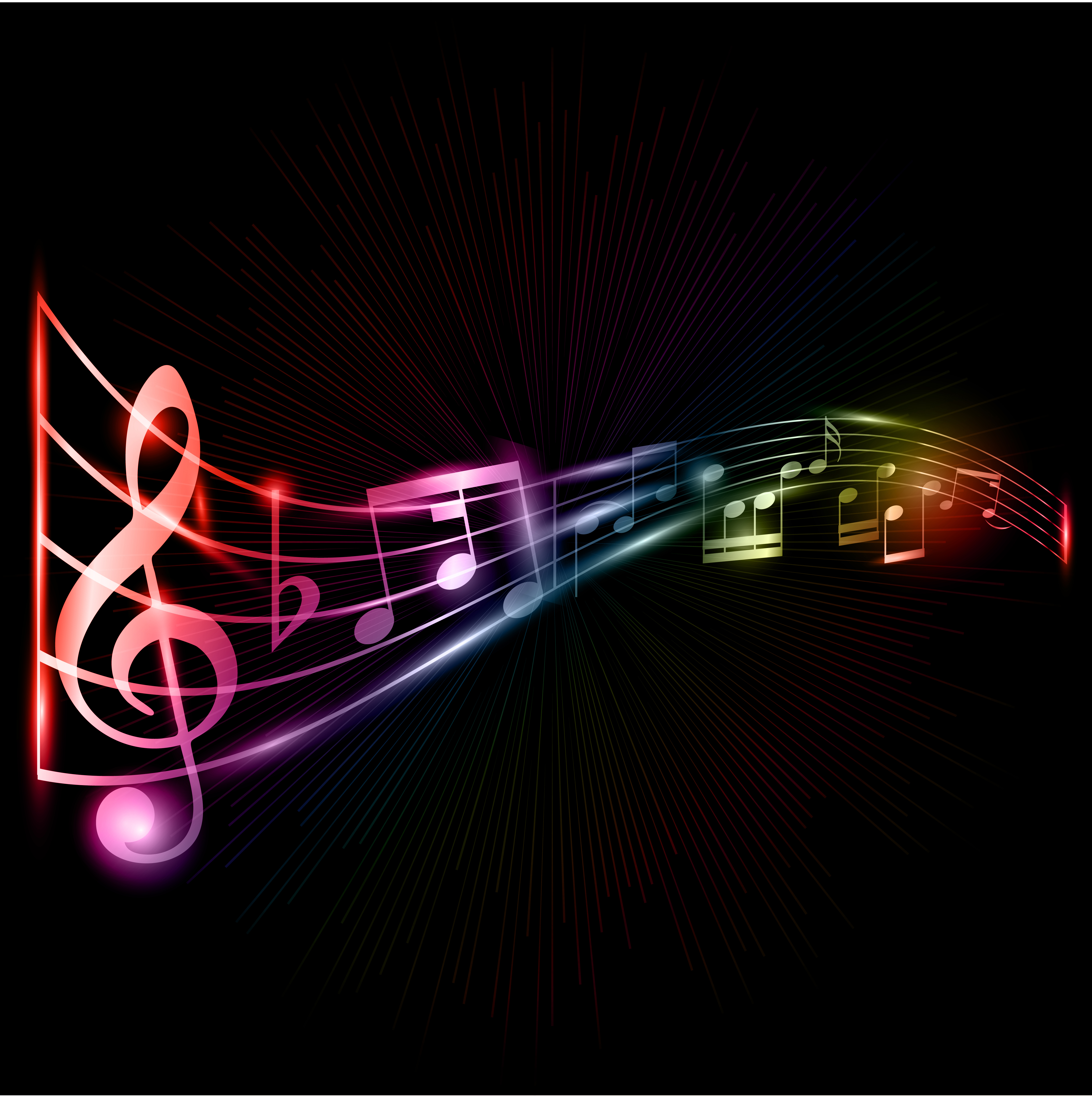 Pics Photos  Music Notes Background