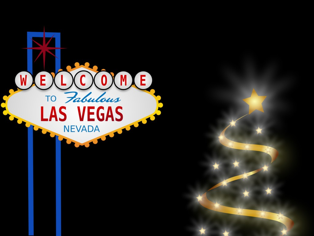 Wele to Las Vegas Design PPT Backgrounds