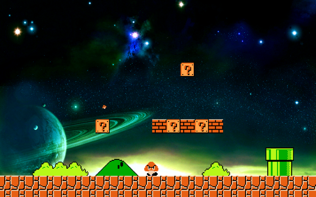 Bit Super Mario Wallpaper Photo by armin956  Photobucket