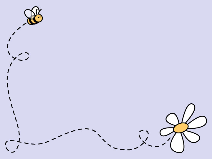 bee daisy background image