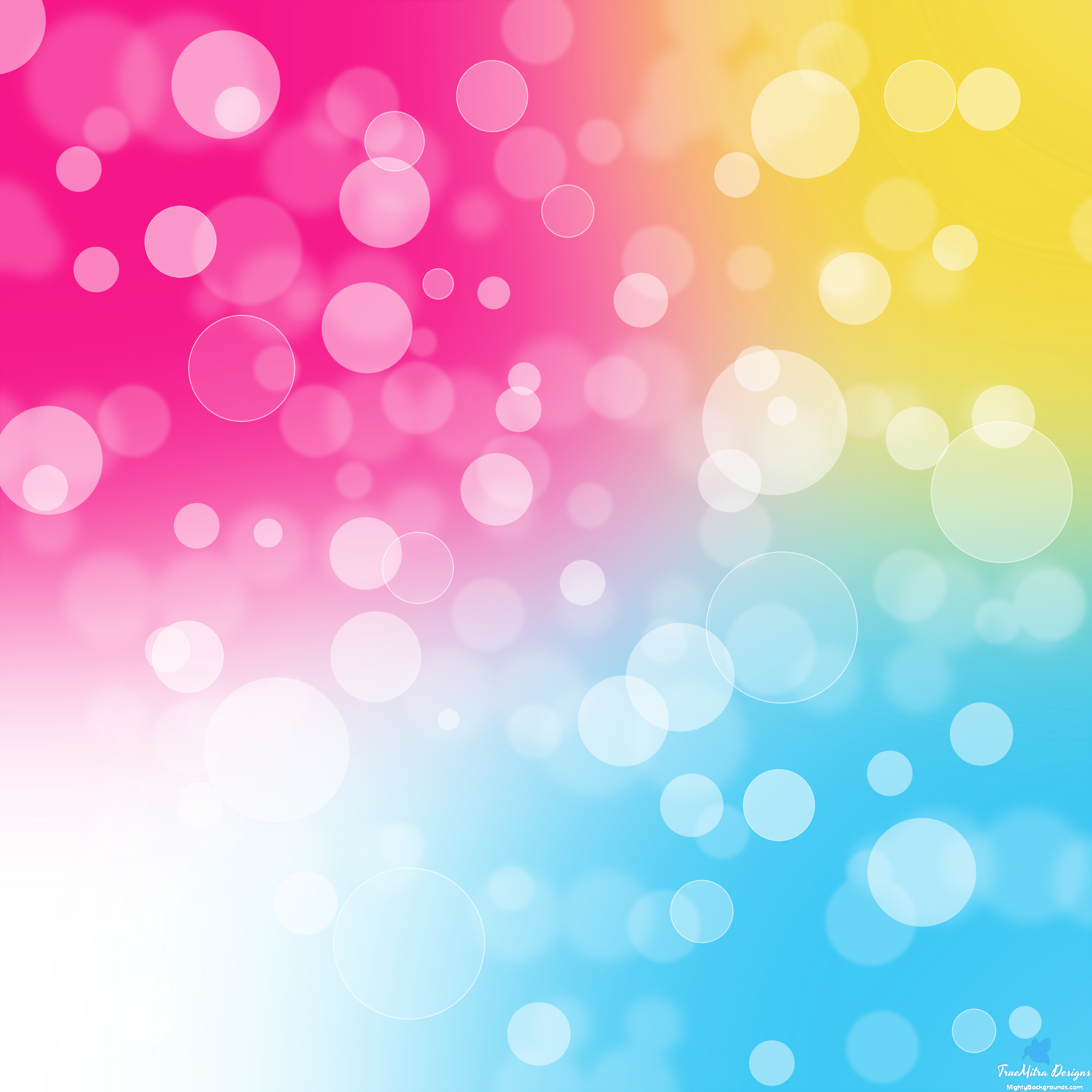 colorful bubbles photo background #11352
