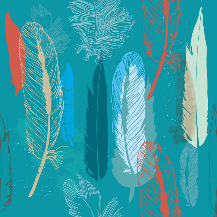 abstract feather background clipart