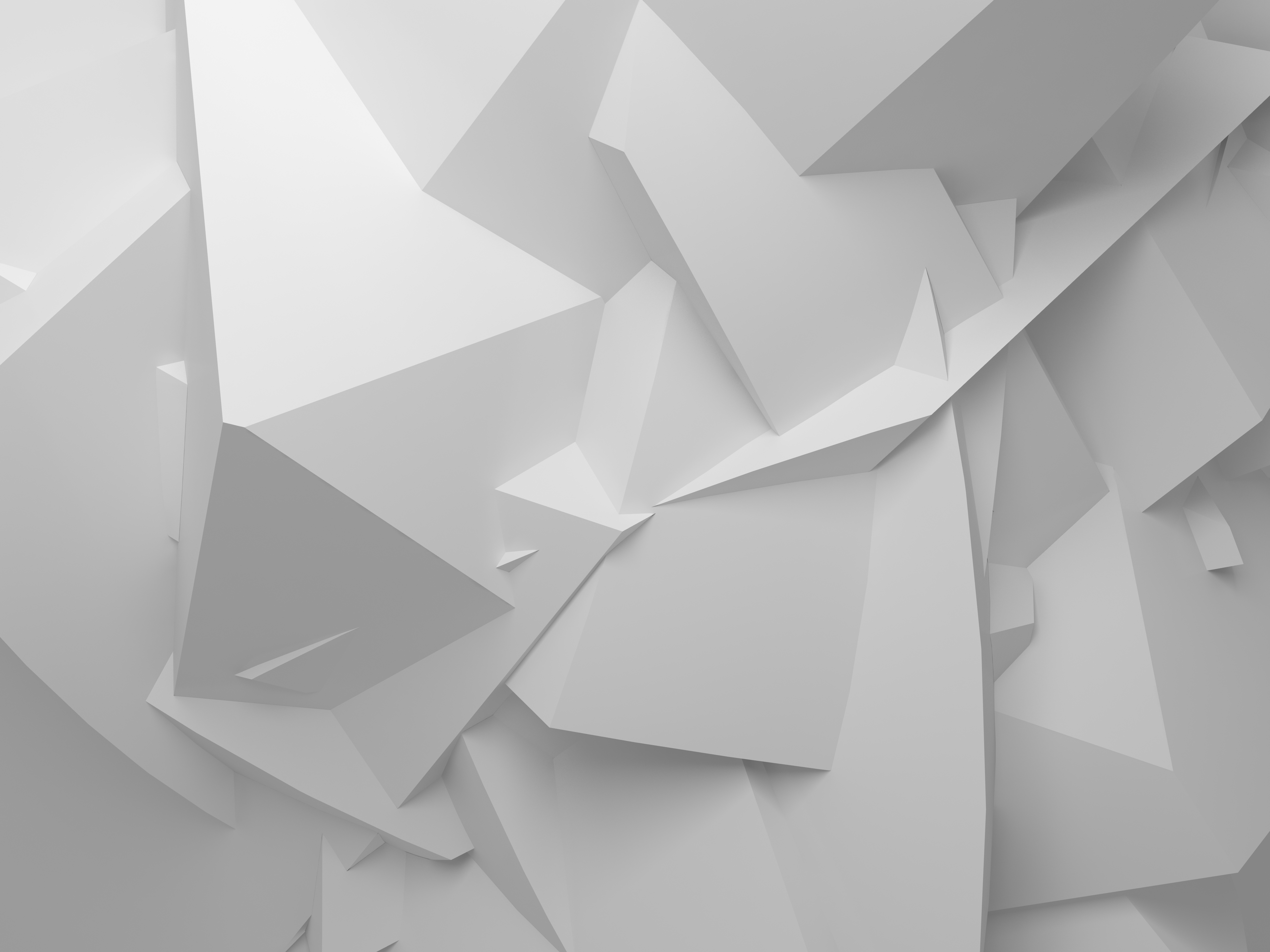 abstract white digital background