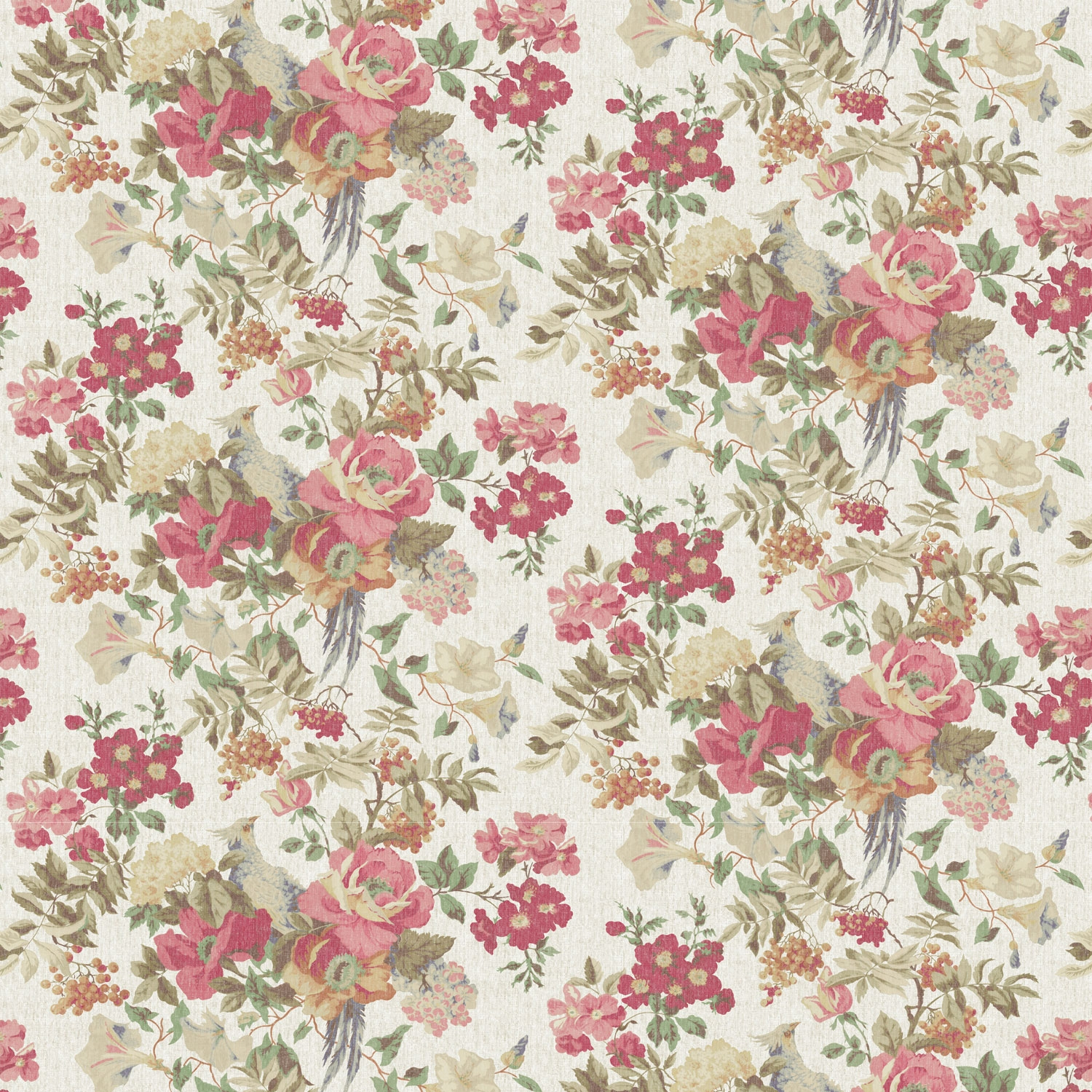 Vintage Floral Background Powerpoint Backgrounds For Free