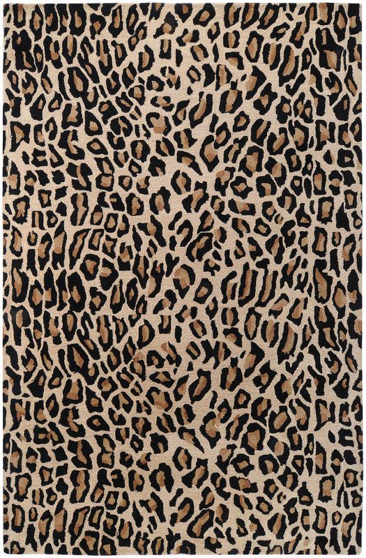 black and white leopard print background