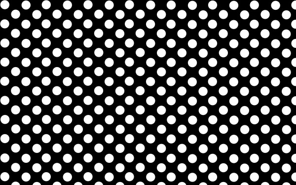 Black And White Polka Dot Background - PowerPoint ...