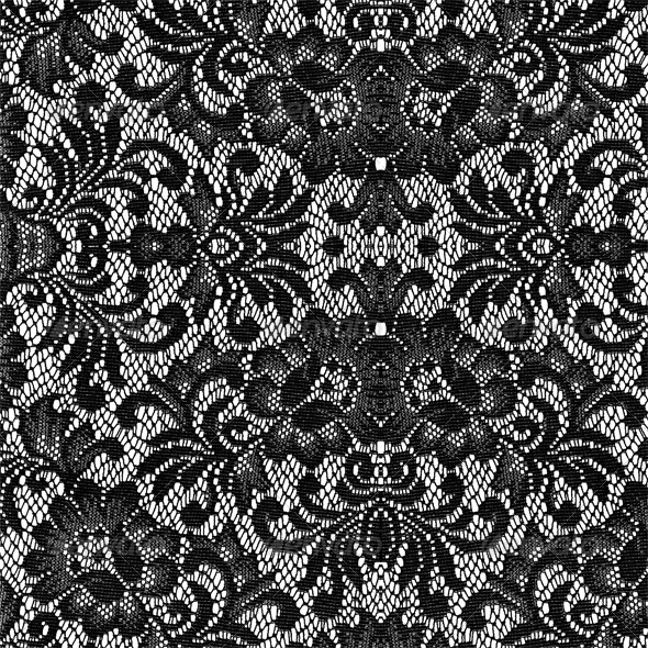 black lace texture background