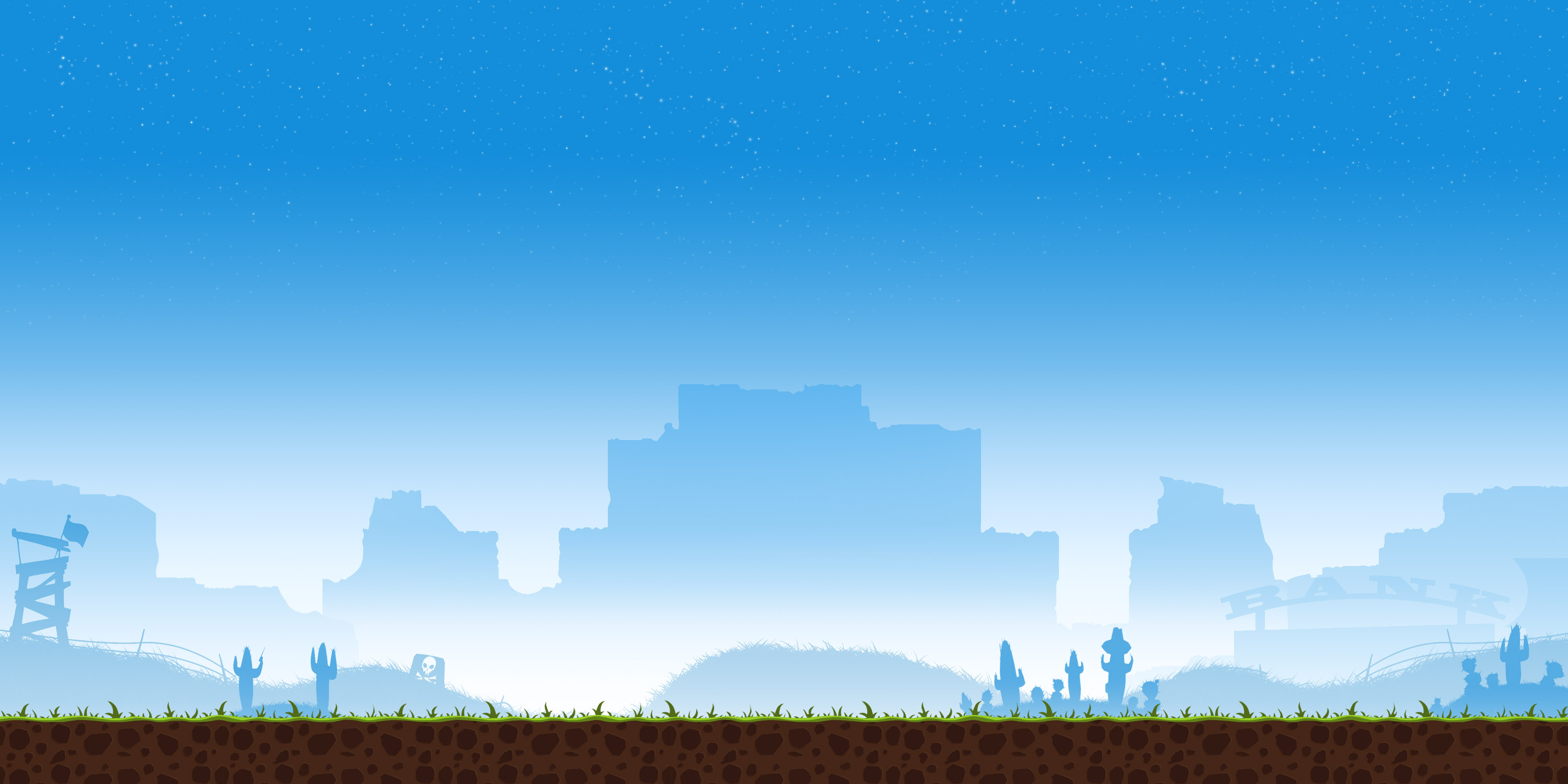 blue and white simple game background #14595