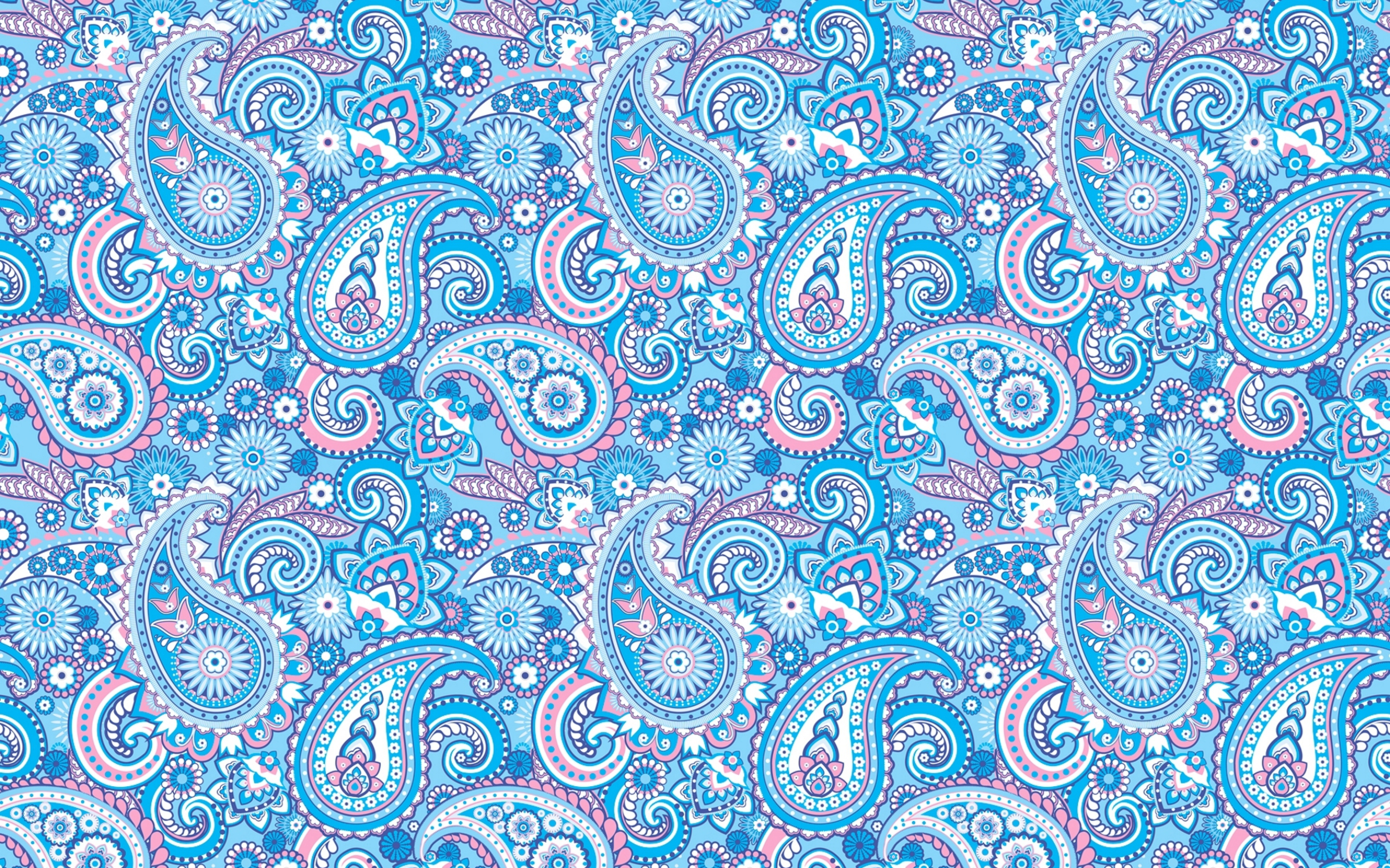 Blue Patterned Background Pattern