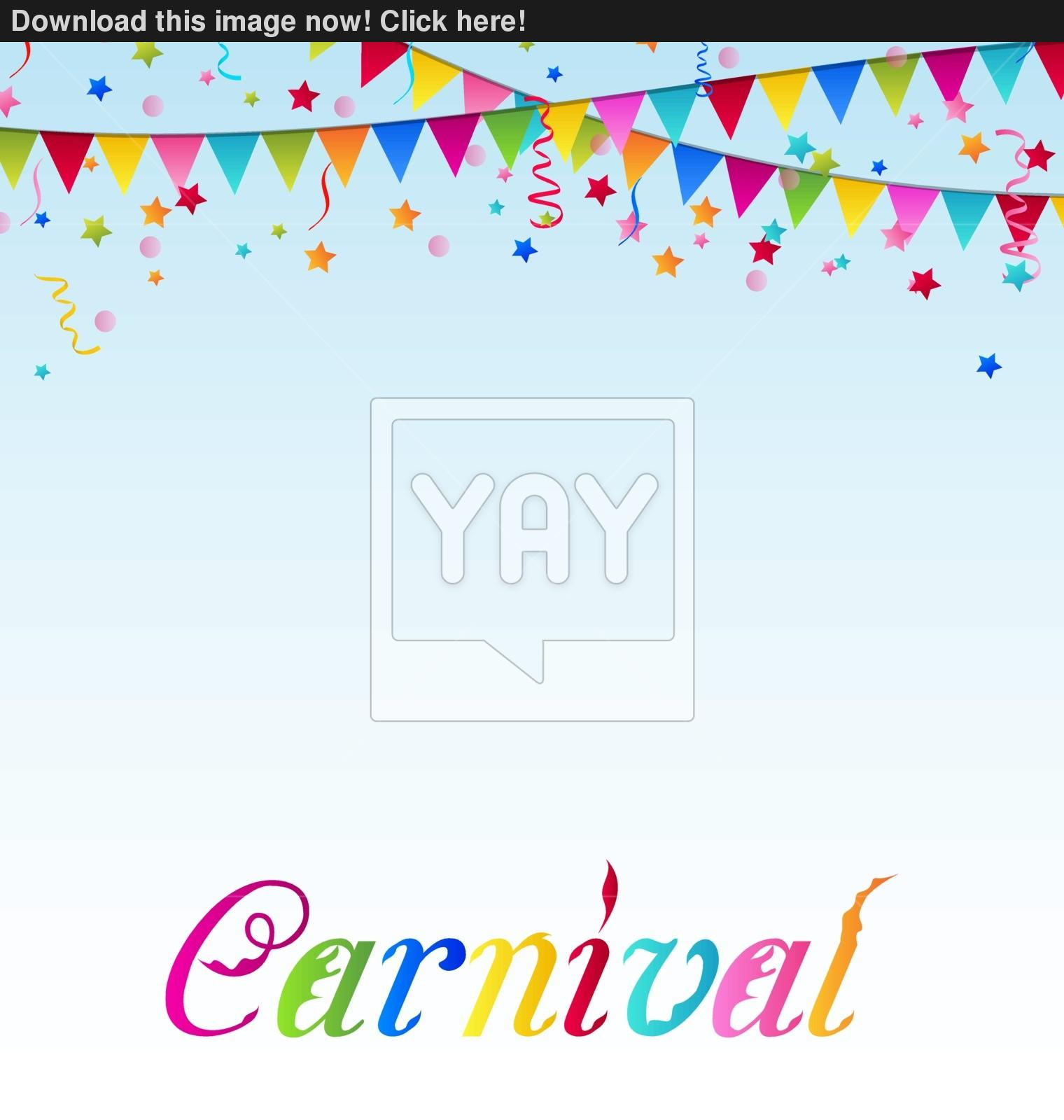 carnival background vector images