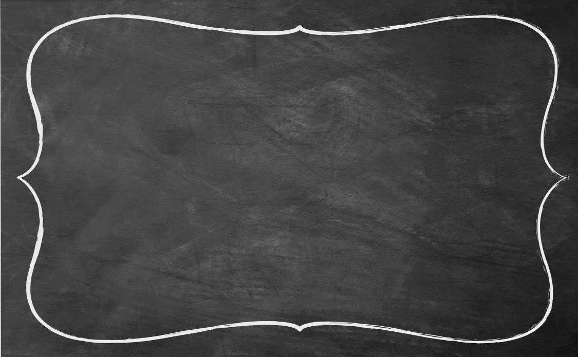 Chalkboard Background With Border Powerpoint Backgrounds