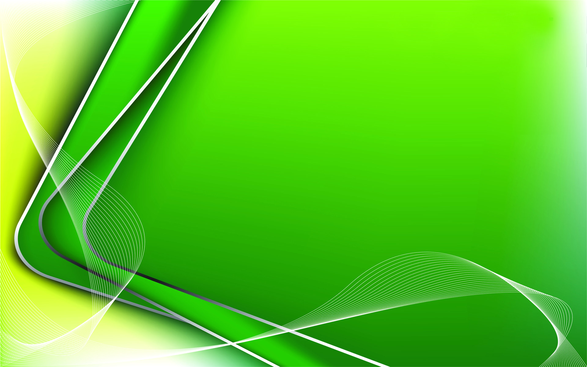 Green Abstract Background Powerpoint Backgrounds For Free