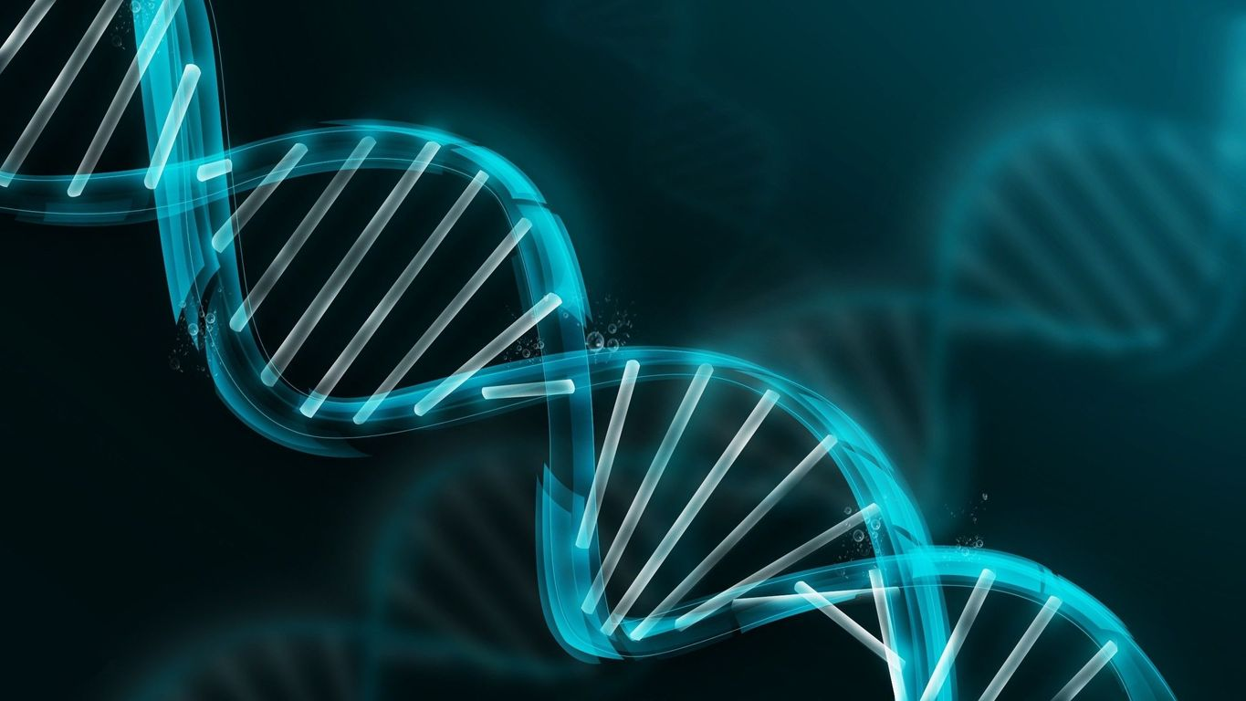 DNA molecule wallpaper image