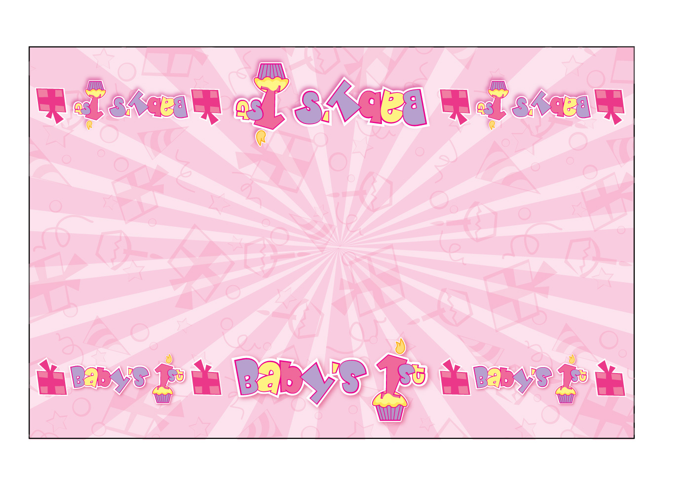 1st Birthday Background Powerpoint Backgrounds For Free