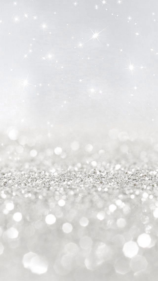 Silver Sparkles Background Powerpoint Backgrounds For Free