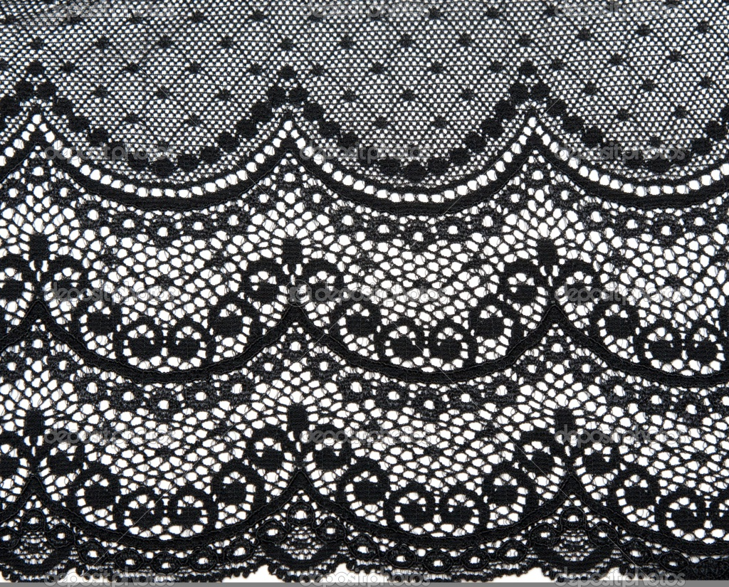 lace and black laces background