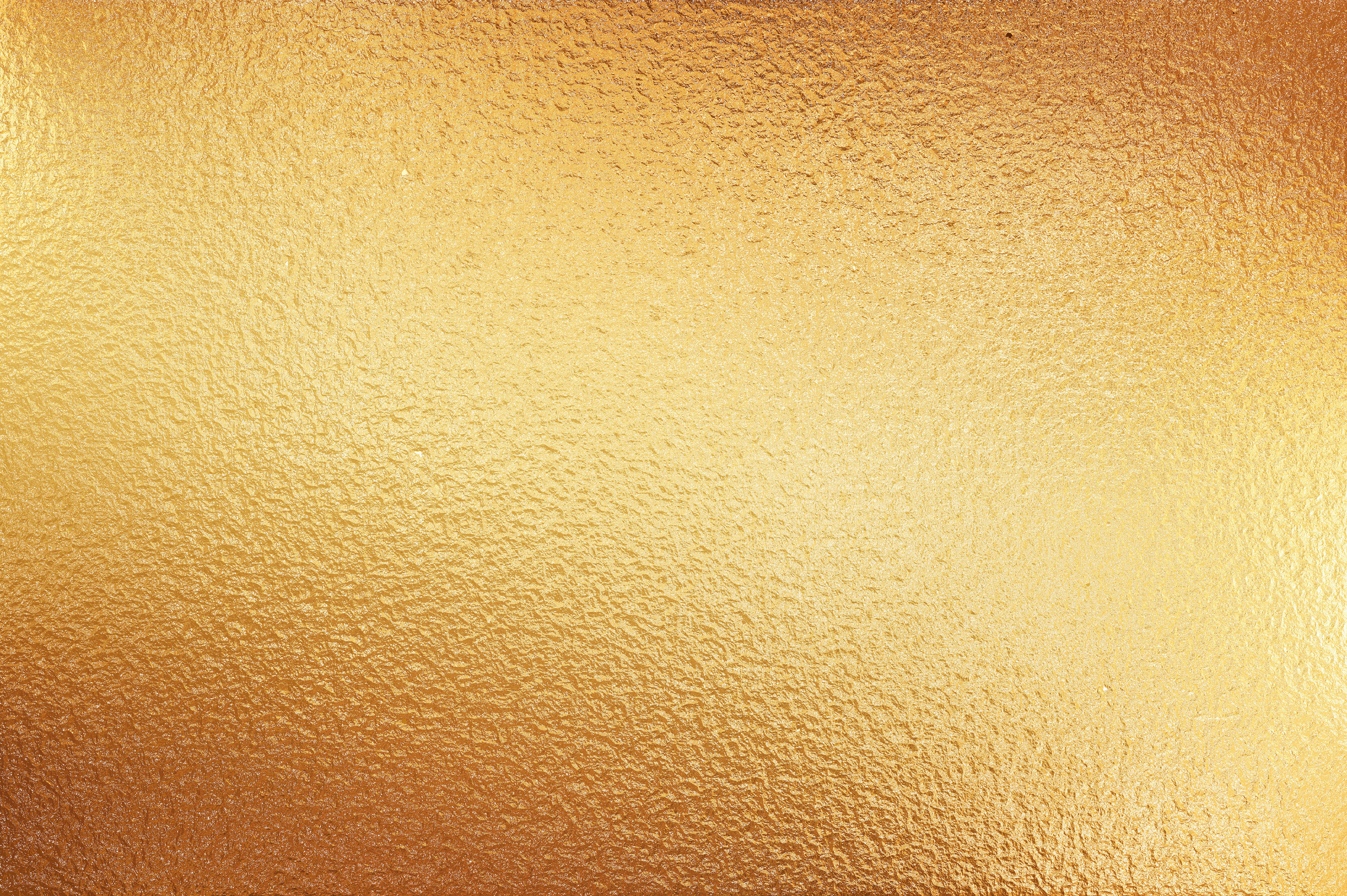 large sheet of gold metal foil texture background  #14054