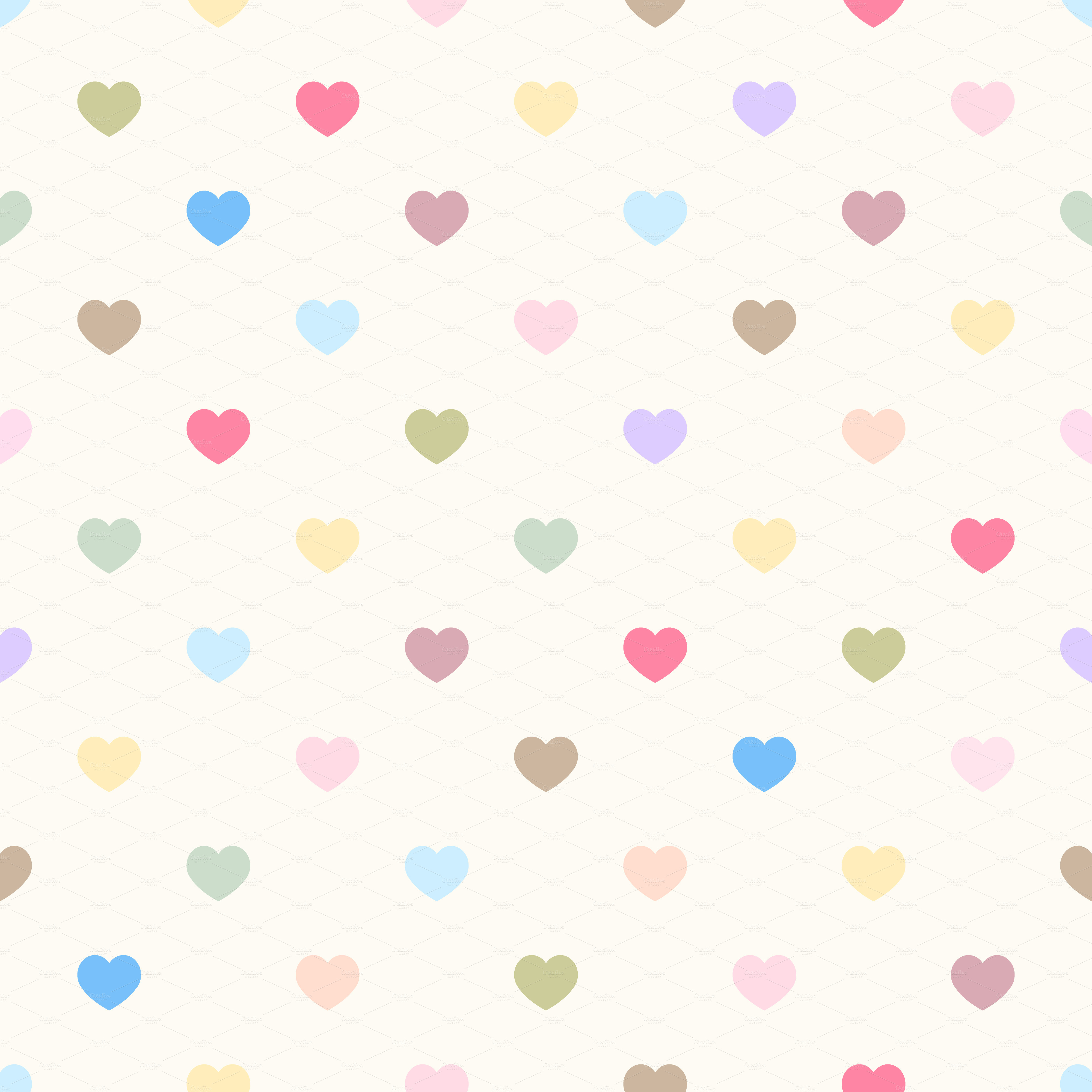 love and move  patterns heart background #12882
