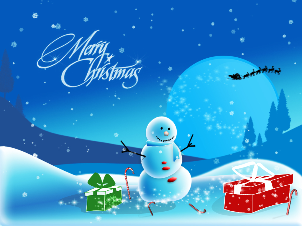 merry christmas background hd
