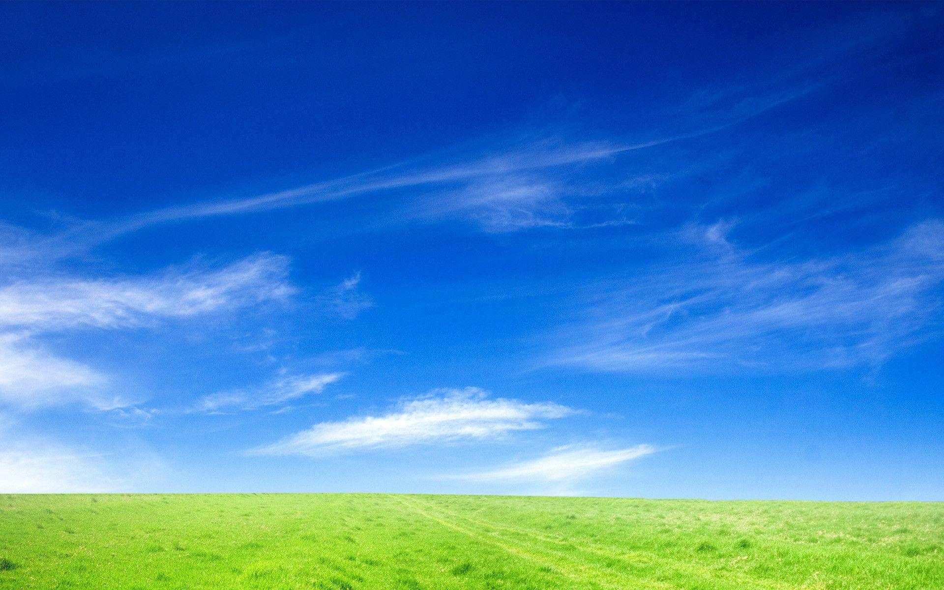 Blue Sky Background Powerpoint Backgrounds For Free Powerpoint Templates