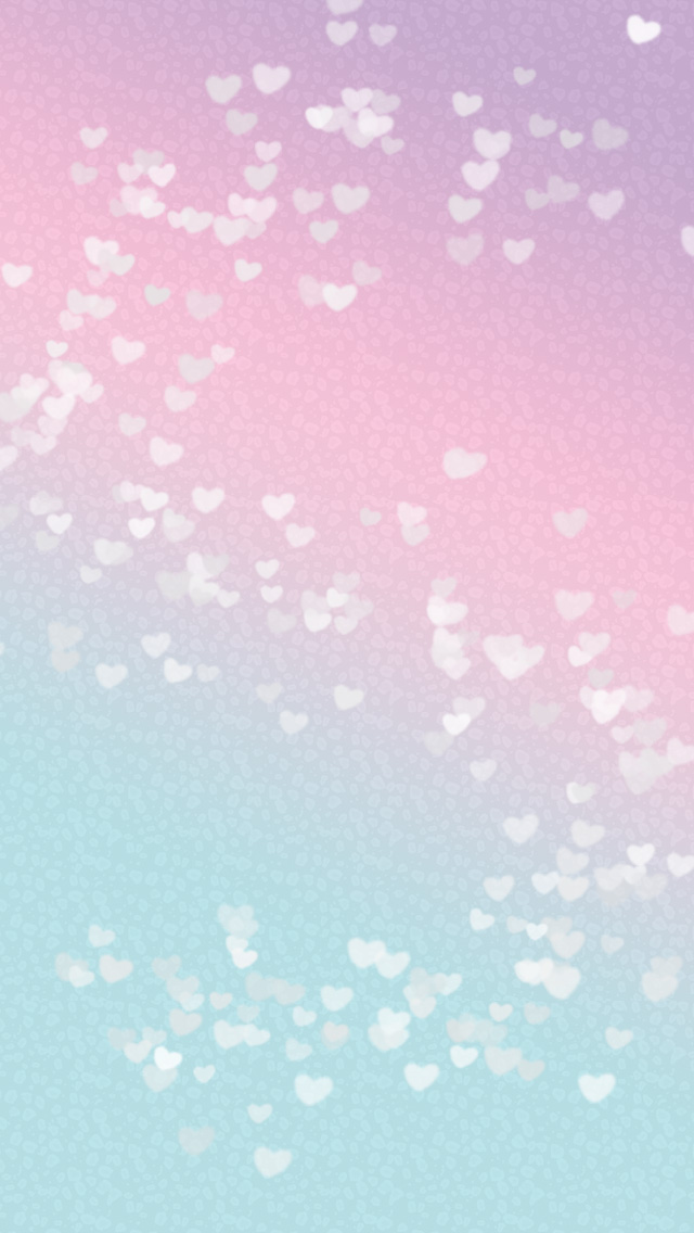 pastel pink blue ombre mini hearts background hq free
