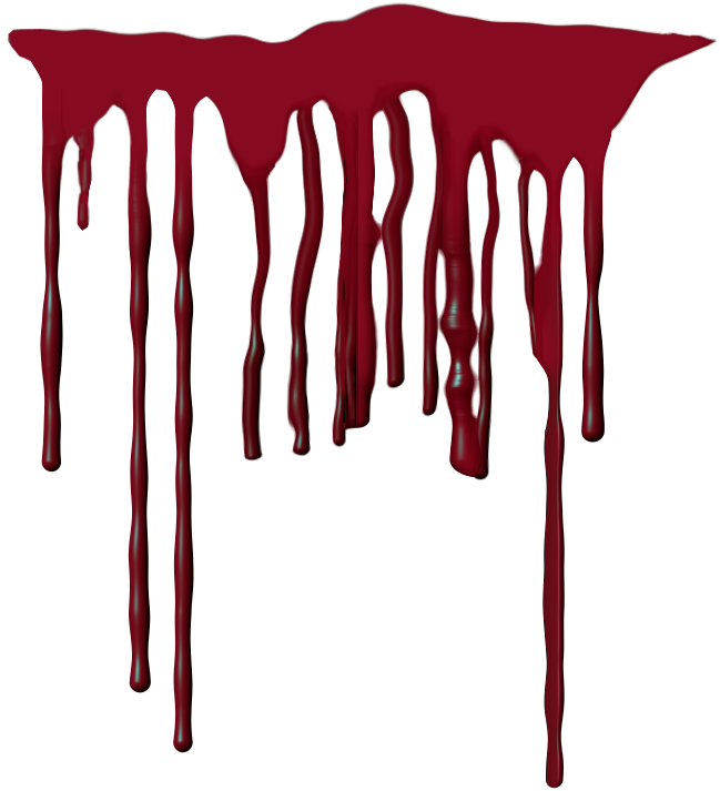 Blood Dripping Transparent Background - PowerPoint ...