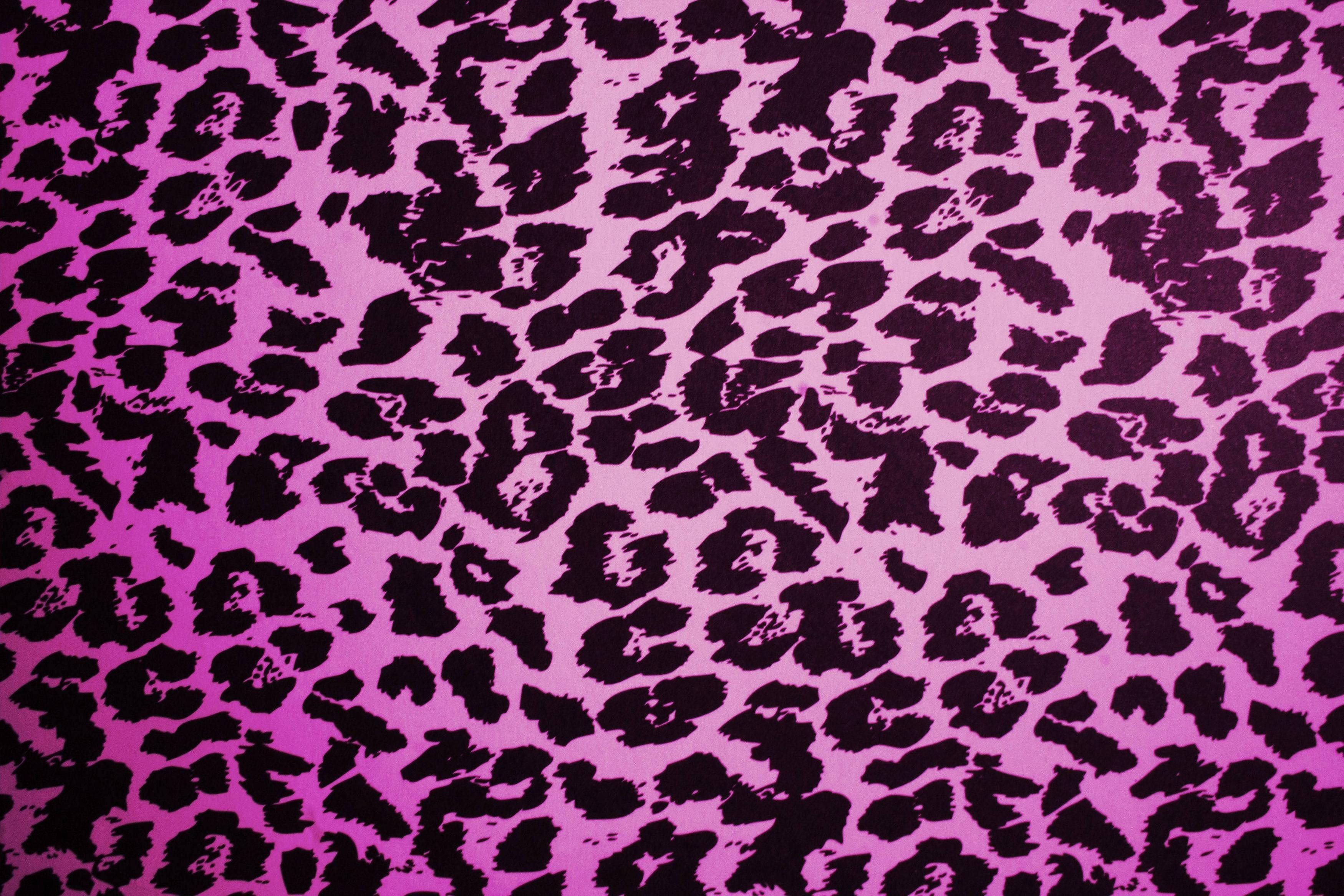 purple animal print desktop background #15957
