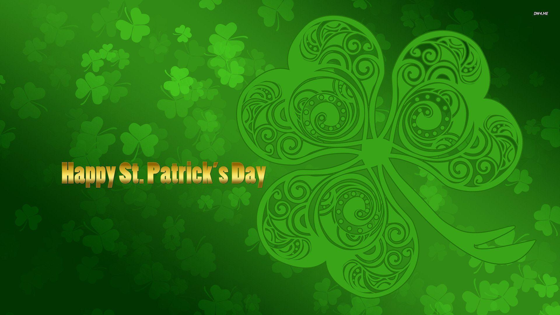 st patrick's day themed wallpaper