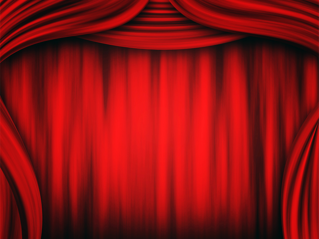 Theater Curtain Backgrounds  PPT Backgrounds Templates