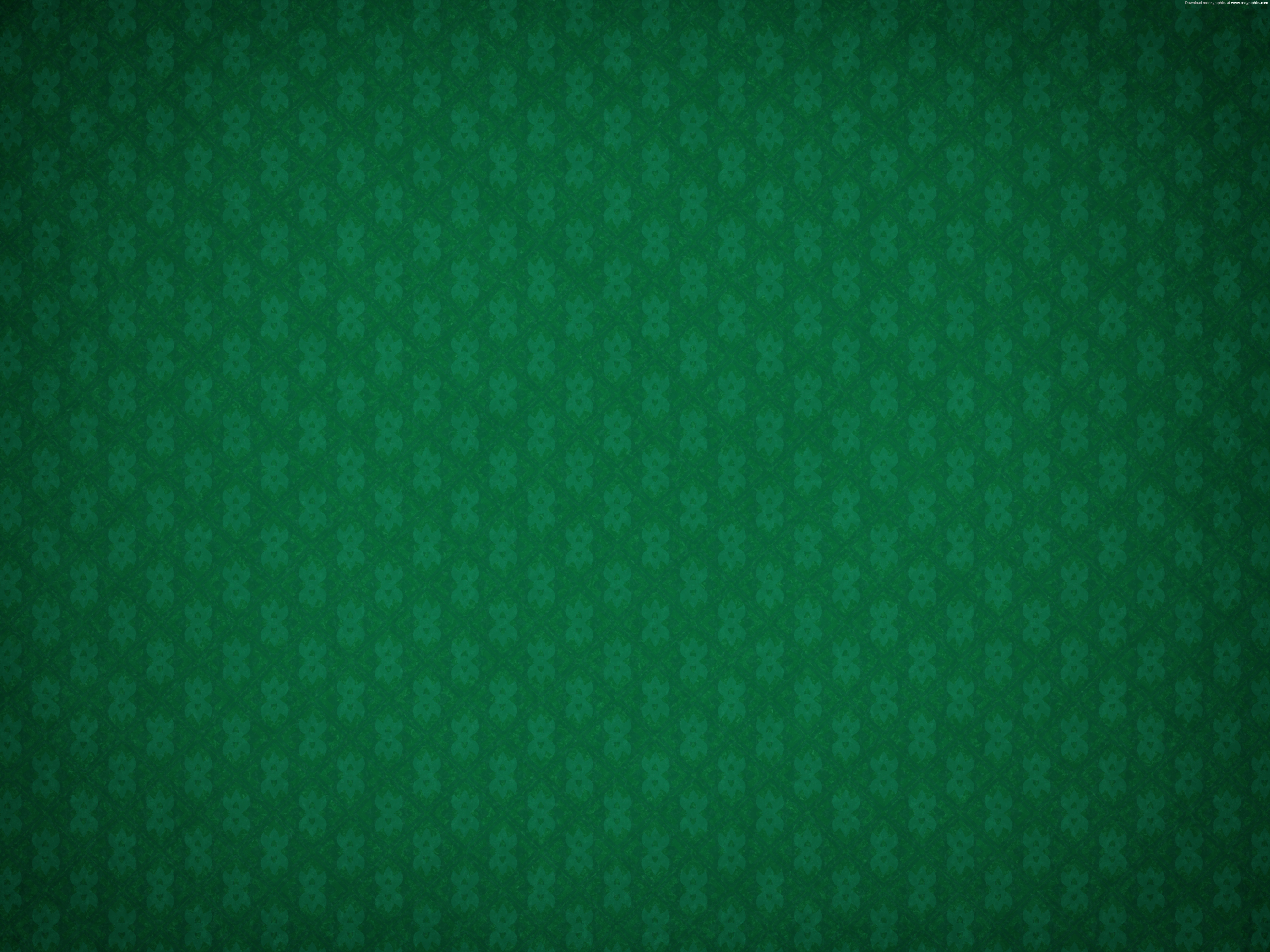 Tissue Green Pattern Wallpaper